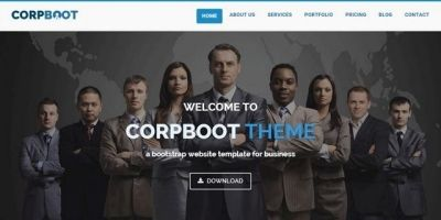 Corpboot – Corporate HTML Template