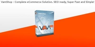 VamShop - Shopping Cart PHP Script