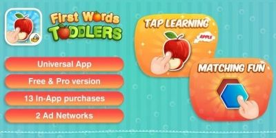 Toddler Kids Puzzle Game - iOS App Source Code