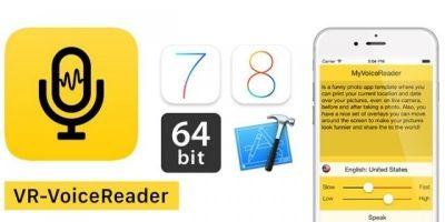 VR-VoiceReader - iOS App Source Code