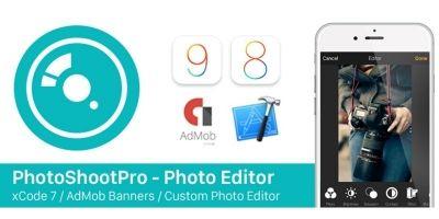 PhotoShootPro - iOS App Source Code