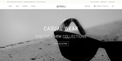 Anomali - Ecommerce HTML Bootstrap Template
