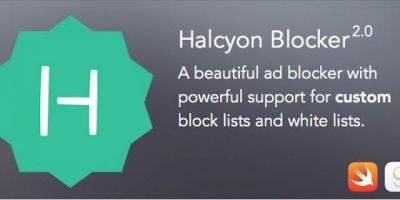Halcyon Ad Blocker - iOS App Source Code