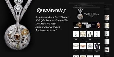 Open Jewelry - Responsive OpenCart Theme
