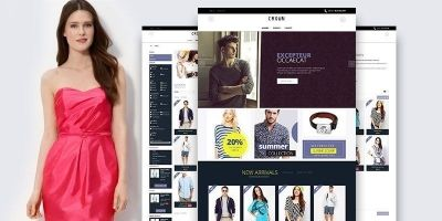 Crown - Responsive PrestaShop Theme