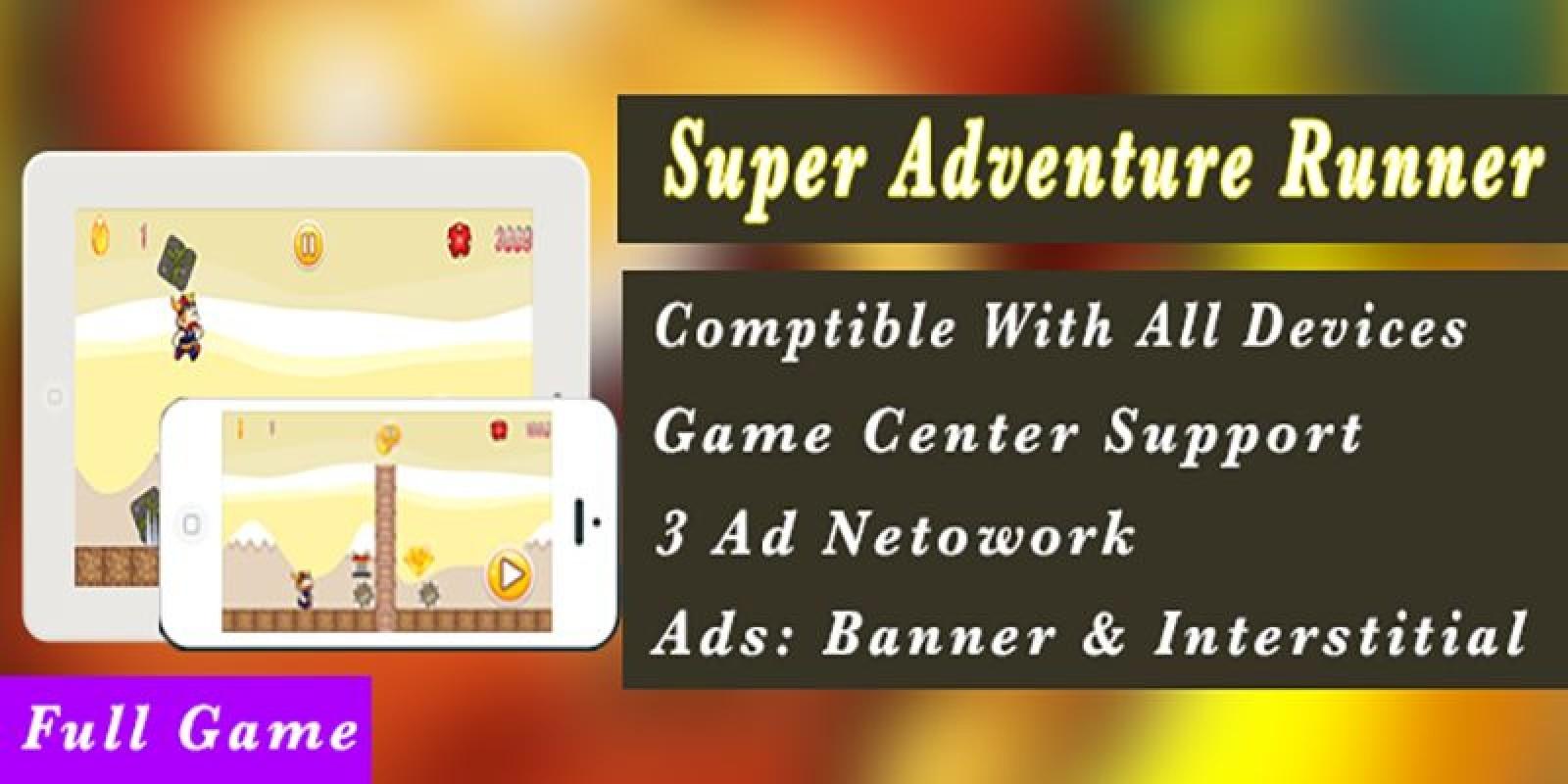 Super Adventure Runner - Android App Code