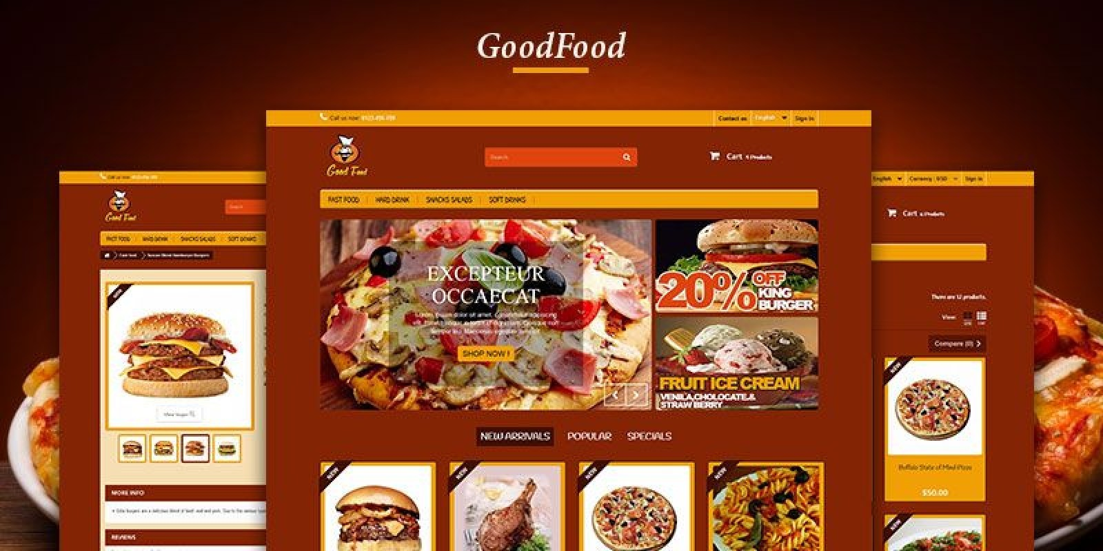 Good Food - Restaurant PrestaShop Theme