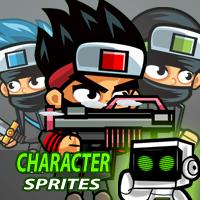 Ninja 2D Game Character SpriteSheets 03