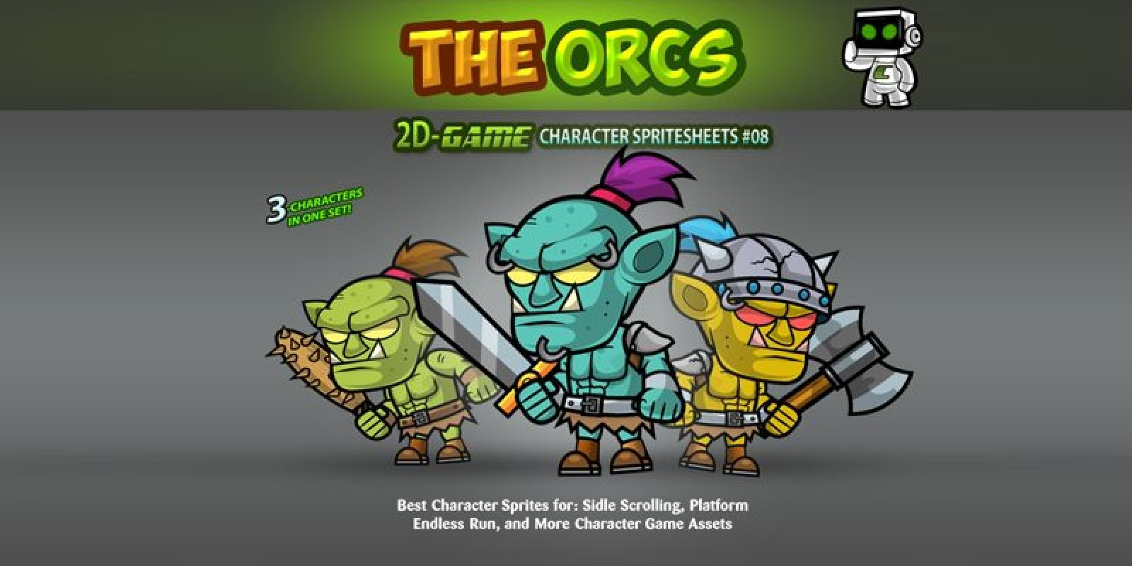 Ors 2D Game Character SpriteSheets 08