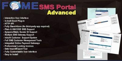 Fome SMS Portal Advanced - PHP Script