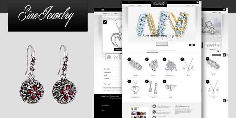 Shine Jewelry - PrestaShop Theme