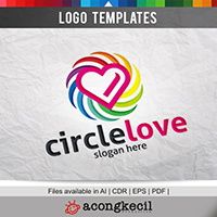 Circle Love - Logo Template