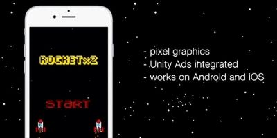 Rocket x 2 - Unity App Source Code