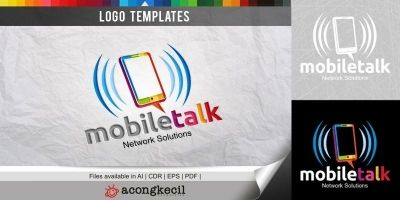 Mobile Talk - Logo Template