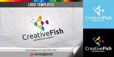 Creative Fish - Logo Template