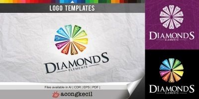 Diamonds - Logo Template