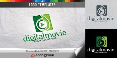 Digital Movie - Logo Template