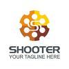 shooter-logo-template