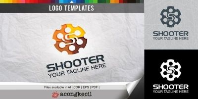 Shooter - Logo Template