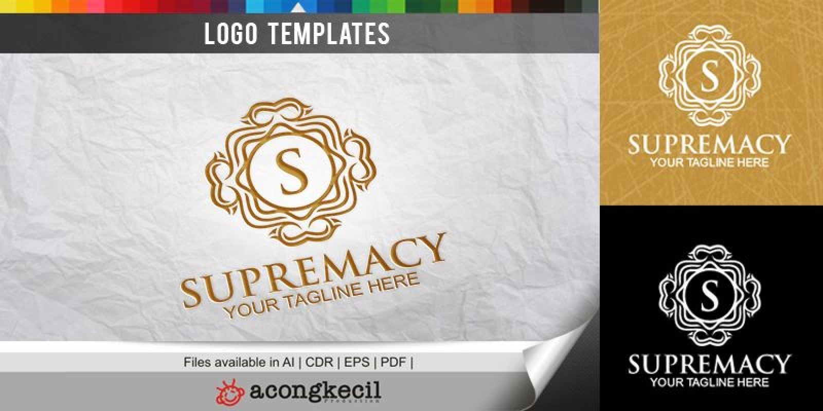 Supremacy - Logo Template