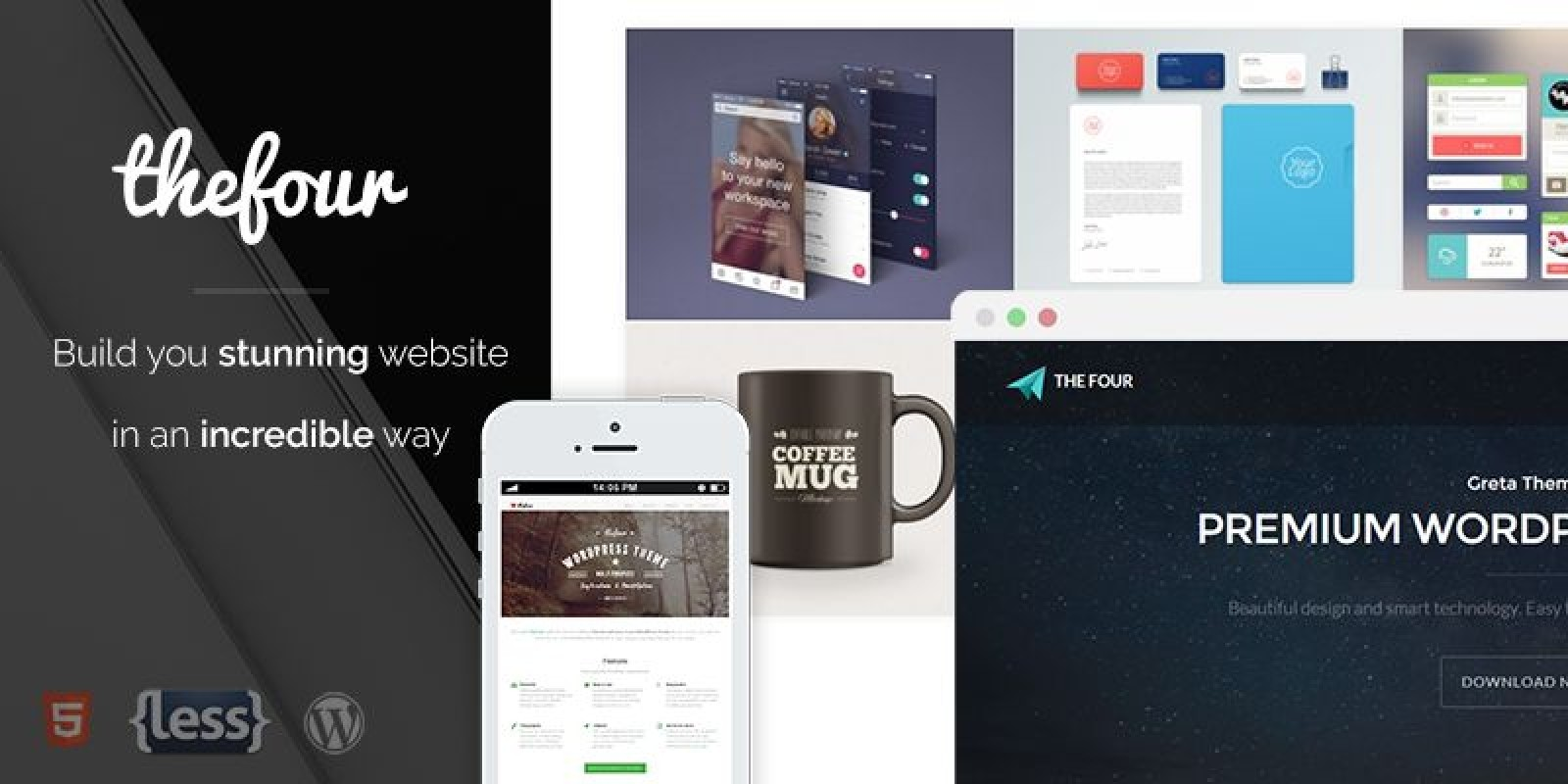 TheFour - Business WordPress Theme