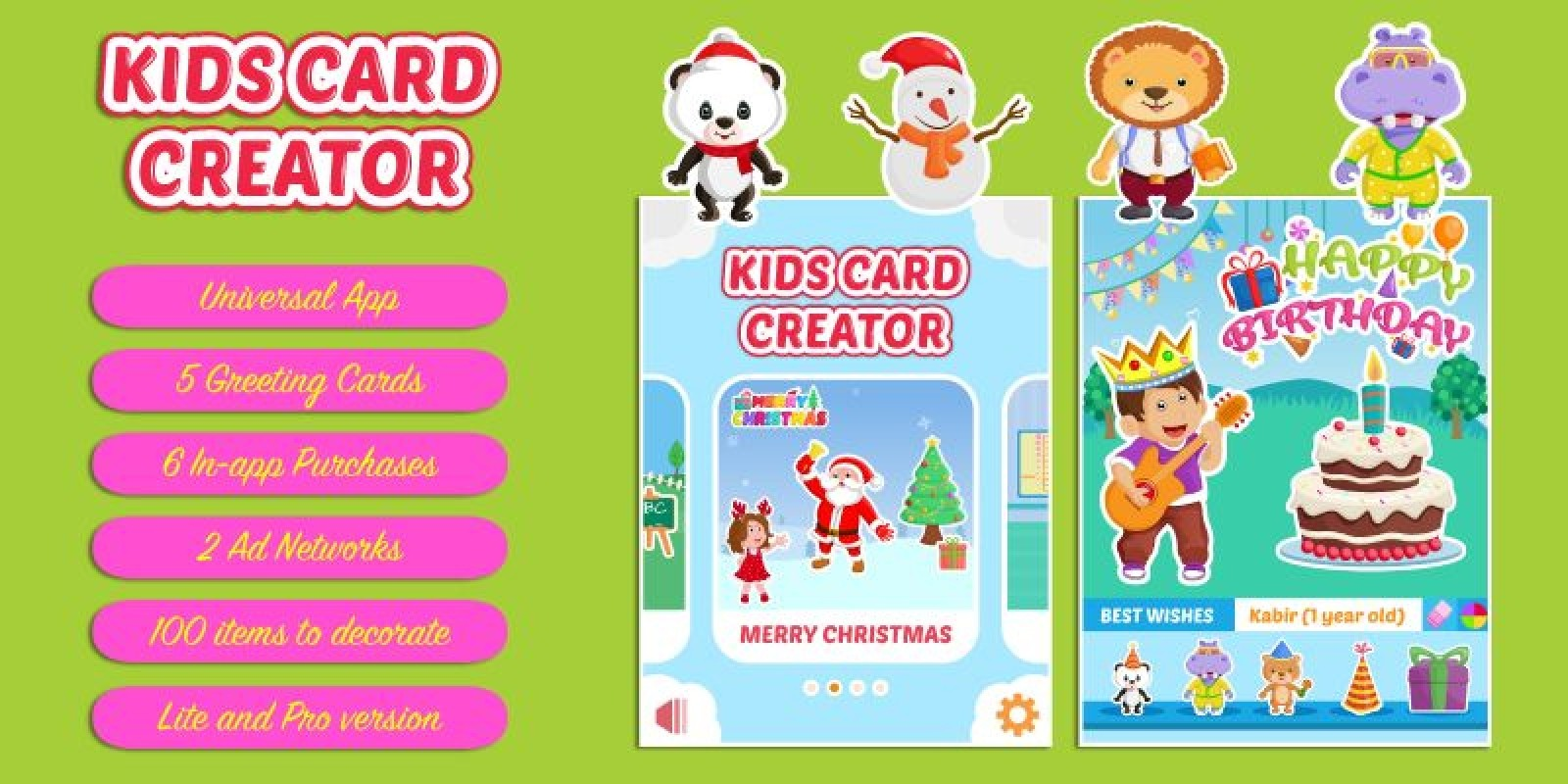 Kids Card Creator - iOS App Source Code