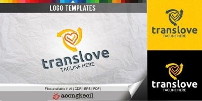Trans Love - Logo Template