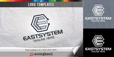 East System - Logo Template