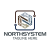 north-system-logo-template