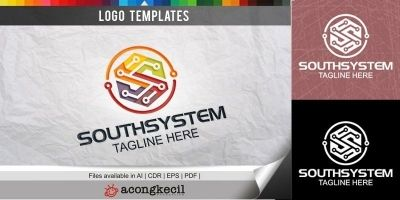 South System - Logo Template