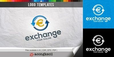 Exchange - Logo Template