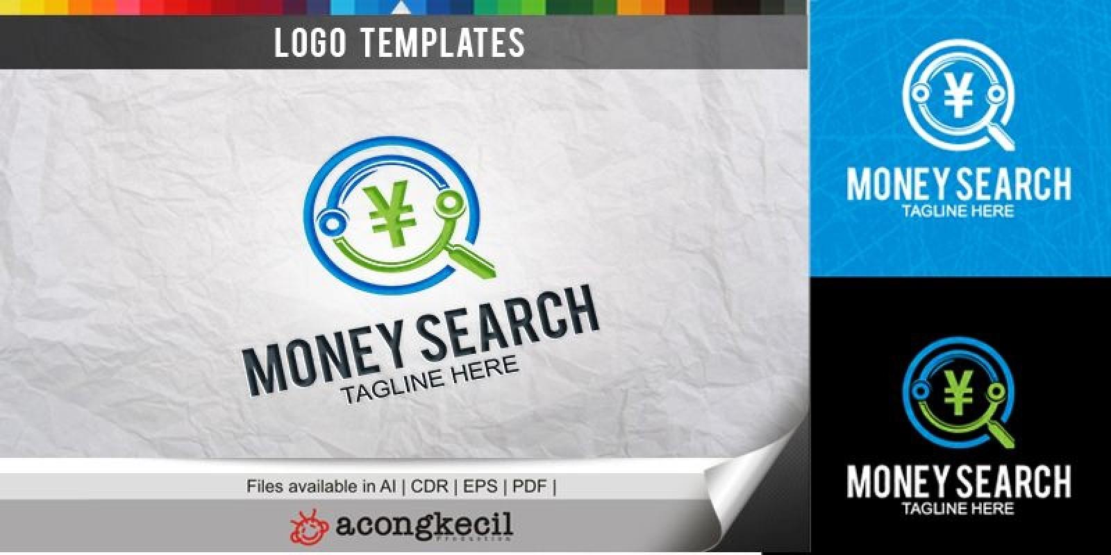 Money Search - Logo Template
