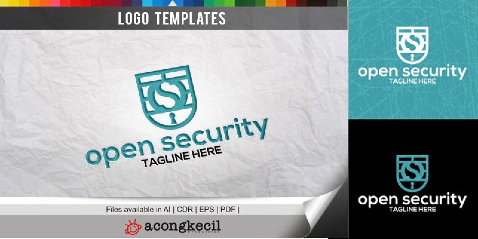 Open Security - Logo Template