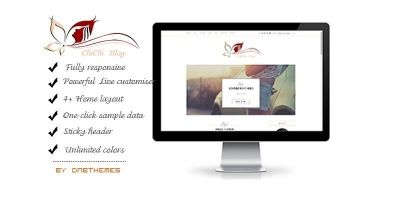 Chichi - Wordpress Blog Theme