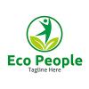 eco-human-logo-template
