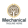 mechanical-logo-template