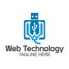 web-tech-logo-template