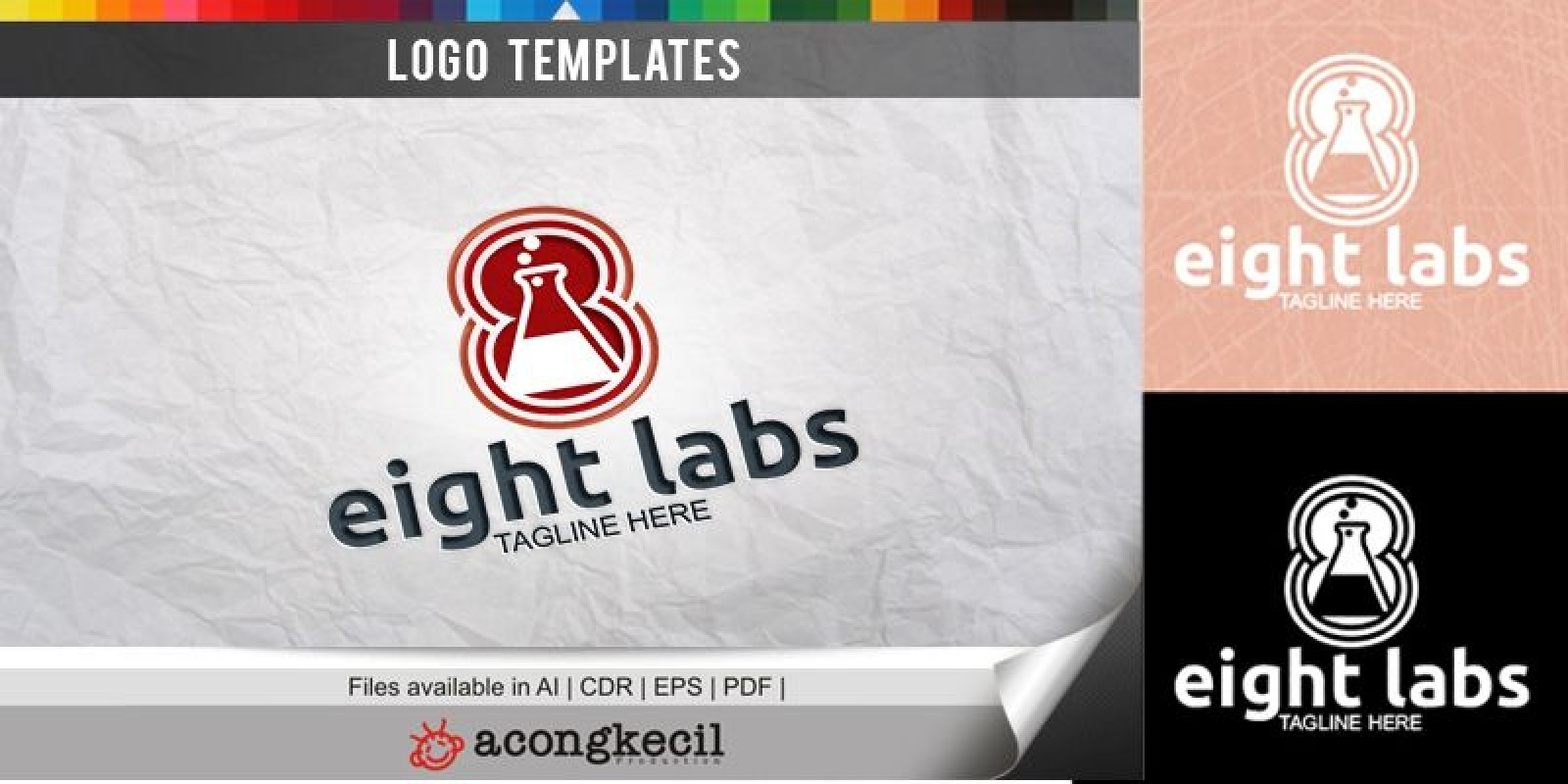 Eight Labs - Logo Template