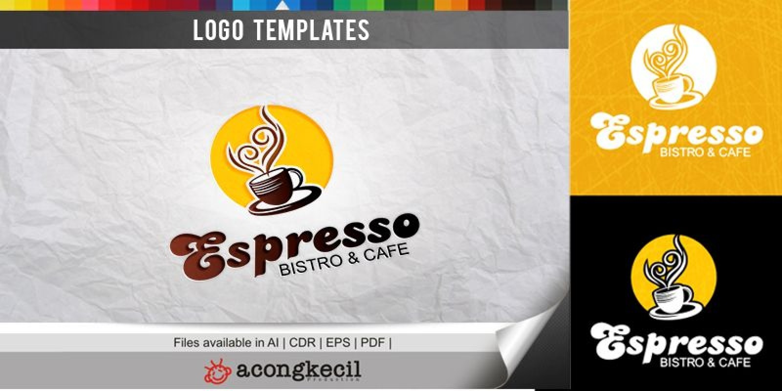 Espresso - Logo Template