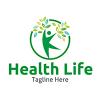 health-life-logo-template