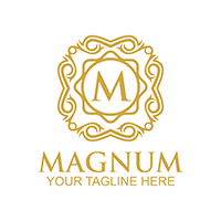 Magnum - Logo Template