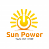 sun-power-logo-template