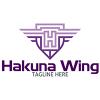 hakuna-wing-logo-template