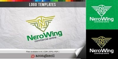 Nero Wing - Logo Template