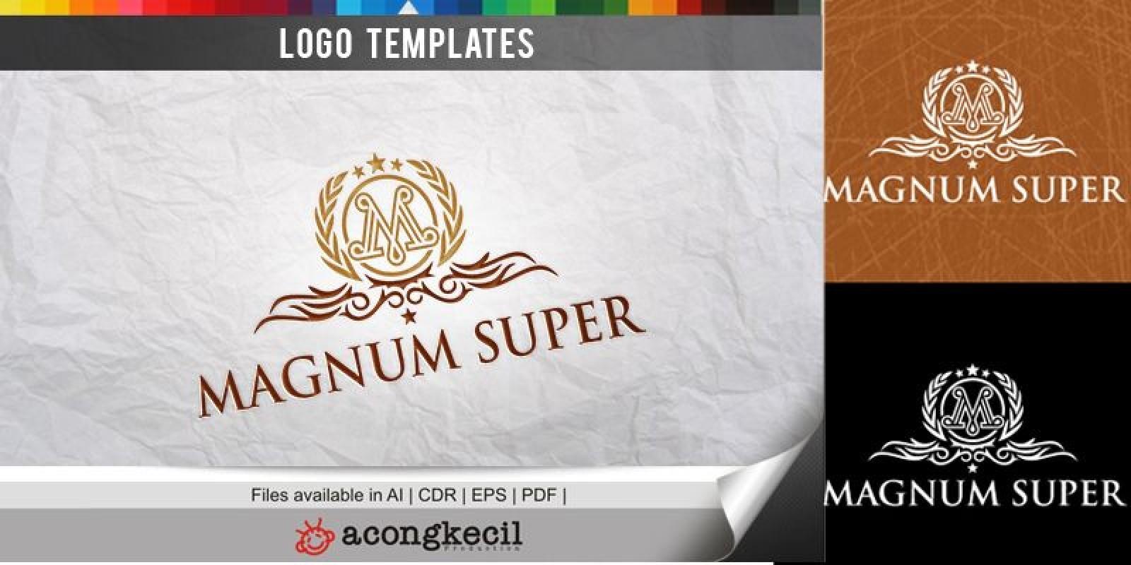 Magnum Super - Logo Template