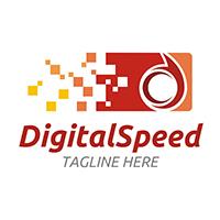 Digital Speed - Logo Template