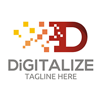Digitalize - Logo Template