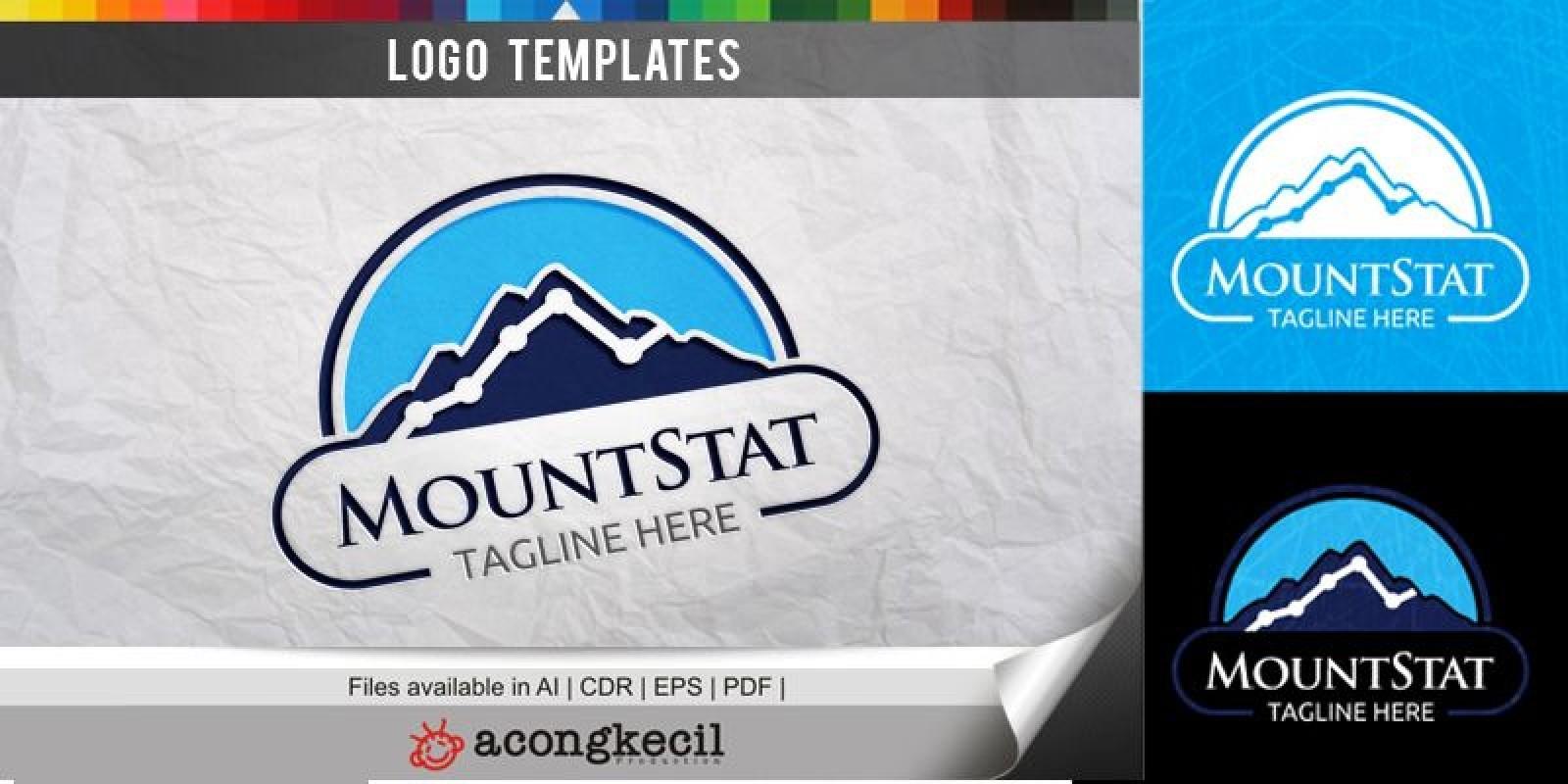 Mount Stat - Logo Template