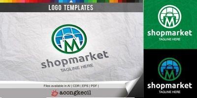 ShopMarket - Logo Template