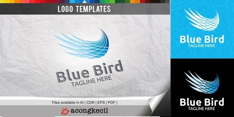 Blue Bird - Logo Template